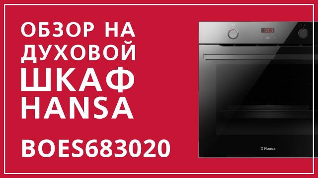 Духовой шкаф Hansa Baking Pro BOES683020 Черный - delonghi.ru – видео 2