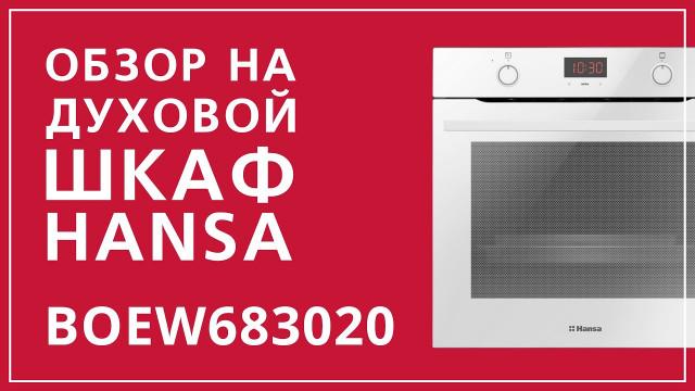 Духовой шкаф Hansa Baking Pro BOEW683020 Белый - delonghi.ru – видео 2