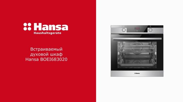 Духовой шкаф Hansa Baking Pro BOEI683020 Нержавеющая сталь - delonghi.ru – видео 2