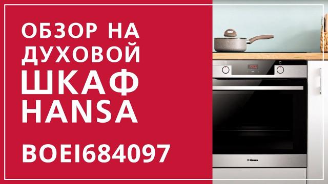 Духовой шкаф Hansa Baking Pro BOEI684097 Нержавеющая сталь - delonghi.ru – видео 2