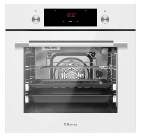 Встраиваемый духовой шкаф Hansa BOEW68441 Белый - hansa.ru – фото 2