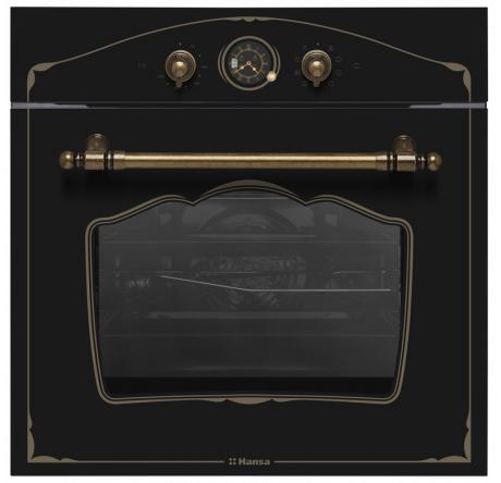 Встраиваемый духовой шкаф Hansa BOEA68229 Черный - hansa.ru – фото 1
