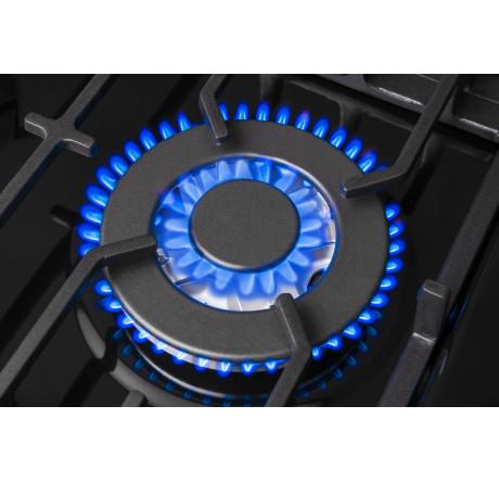 Газовая варочная поверхность Hansa BHGS61139 Черный - hansa.ru – фото 6
