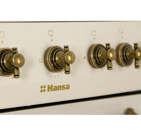 Газовая плита Hansa FCGY62109 Слоновая кость - hansa.ru – фото 8