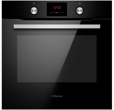 Духовой шкаф Hansa Baking Pro BOESS694001 Черный - hansa.ru – фото 1
