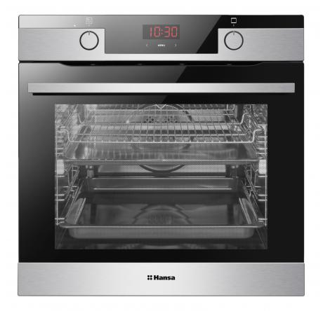 Духовой шкаф Hansa Baking Pro BOEI683020 Нержавеющая сталь - hansa.ru – фото 3