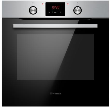 Духовой шкаф Hansa Baking Pro BOEI694501 Нержавеющая сталь - hansa.ru – фото 1