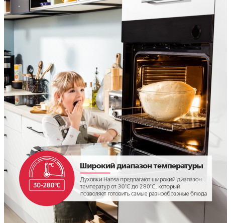 Духовой шкаф Hansa Baking Pro BOEIS696022 Нержавеющая сталь - hansa.ru – фото 20