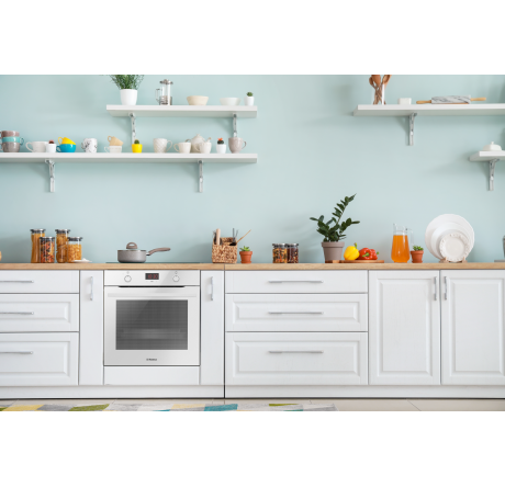 Духовой шкаф Hansa Baking Pro BOEW683020 Белый - hansa.ru – фото 5