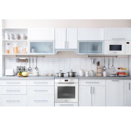Духовой шкаф Hansa Baking Pro BOEW683020 Белый - hansa.ru – фото 7