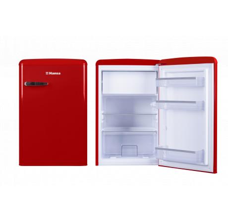 Холодильная камера Hansa FM1337.3RAA Красный - hansa.ru – фото 3