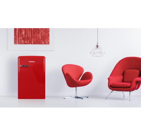 Холодильная камера Hansa FM1337.3RAA Красный - hansa.ru – фото 7