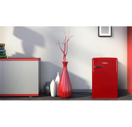 Холодильная камера Hansa FM1337.3RAA Красный - hansa.ru – фото 8