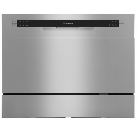 Настольная посудомоечная машина Hansa ZWM536SH Серебрянный - hansa.ru – фото 1