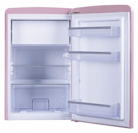 Холодильная камера Hansa FM1337.3PAA Розовый - hansa.ru – фото 3