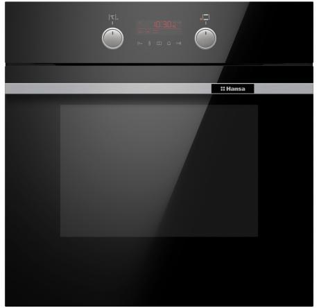 Духовой шкаф Hansa Baking Pro BOESS696203 Черный - hansa.ru – фото 1