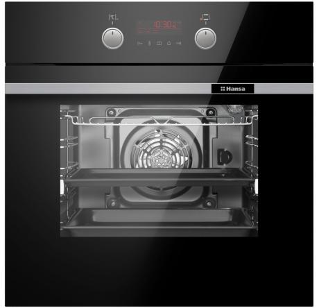 Духовой шкаф Hansa Baking Pro BOESS696203 Черный - hansa.ru – фото 2
