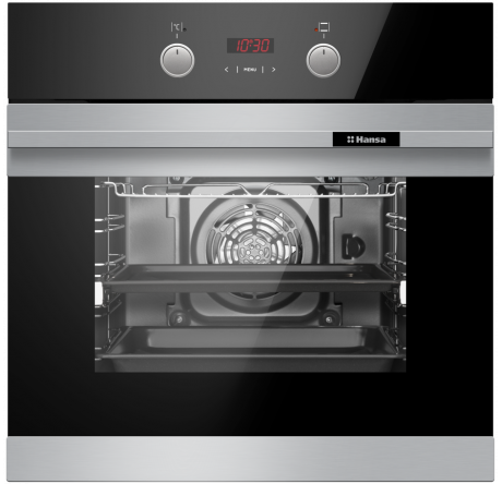 Духовой шкаф Hansa Baking Pro BOEI694003 Нержавеющая сталь - hansa.ru – фото 2