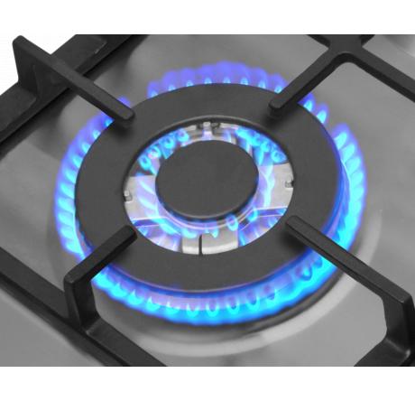 Газовая варочная поверхность Hansa BHGI611391 Нержавеющая сталь - hansa.ru – фото 3