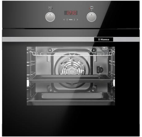 Духовой шкаф Hansa Baking Pro BOES694003 Черный - hansa.ru – фото 2