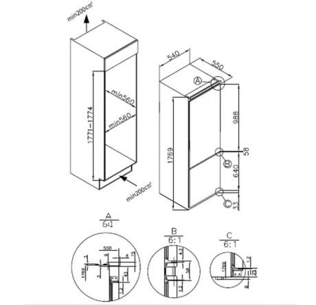 Холодильник Hansa BK303.2U - hansa.ru – фото 2