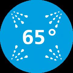 Интенсивная мойка 60-65°C/160/165/170 минут