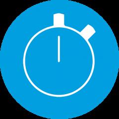 Быстрая программа 45°C – 30 минут
