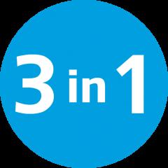 Функция 3в1